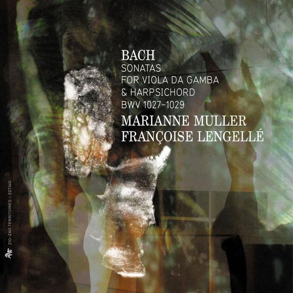 Marianne Muller - Bach: Sonatas for Viola da Gamba & Harpsichord, BWV 1027-1029