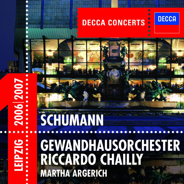 Martha Argerich - Schumann: Piano Concerto / Symphony No.4