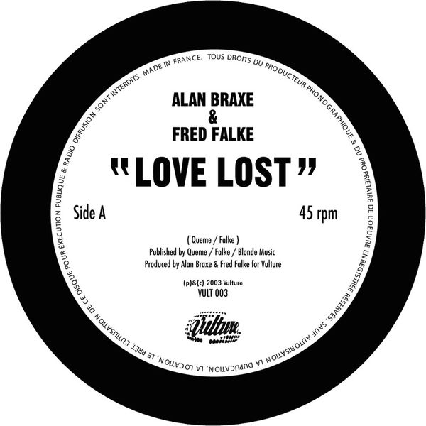 Alan Braxe - Love Lost - Single