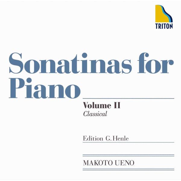 Makoto Ueno - Sonatinas for Piano VolumeII Classical  - Edition G.Henle
