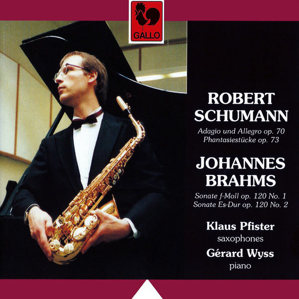Robert Schumann - Schumann: Adagio and Allegro, Op. 70 - Fantasiestücke, Op. 73 & Brahms: Clarinet Sonata No.1 & No. 2, Op. 120