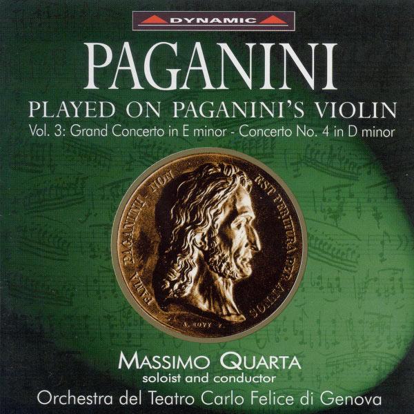Massimo Quarta - Paganini Played On Paganini's Violin, Vol. 3