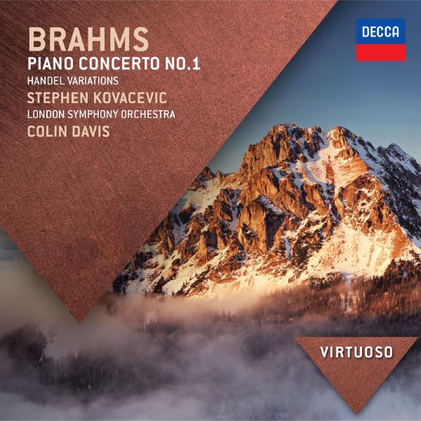 Stephen Kovacevich - Brahms: Piano Concerto No.1; Handel Variations