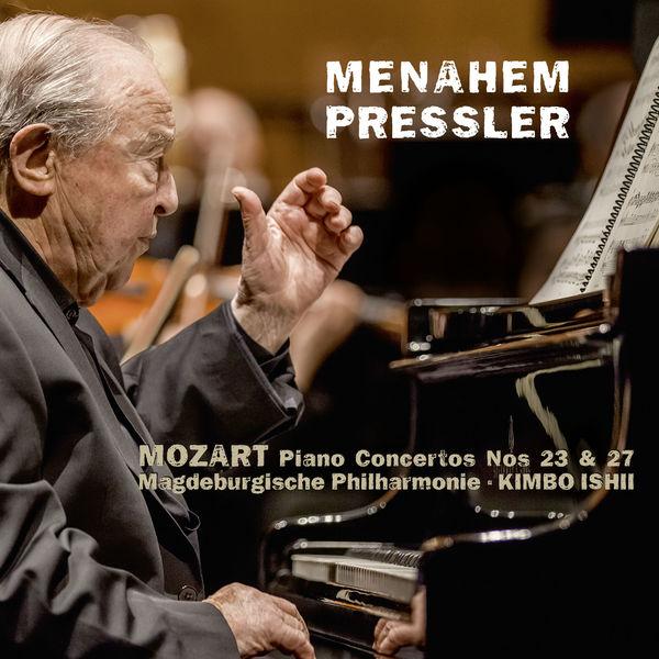 Menahem Pressler - Mozart : Piano Concertos 23 & 27, Debussy, Chopin (Live)