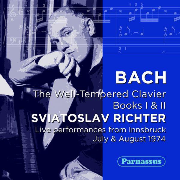 Sviatoslav Richter - Bach: Well Tempered Clavier, I & II (Live Innsbruck 1973)