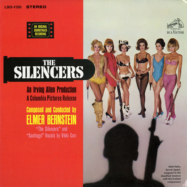 Elmer Bernstein - The Silencers (Soundtrack)