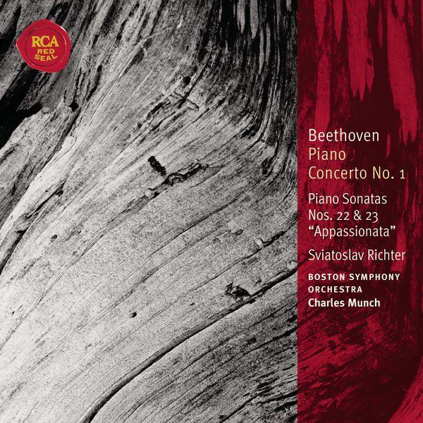 Sviatoslav Richter - Beethoven Piano Concerto No. 1; Piano Sonatas Nos. 22 & 23: Classic Library Series