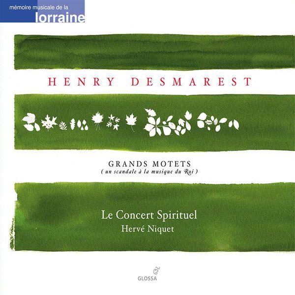 Le Concert Spirituel - Desmarets, H.: Grand Motets, Vol. 2 - De Profundis (Le Concert Spirituel)