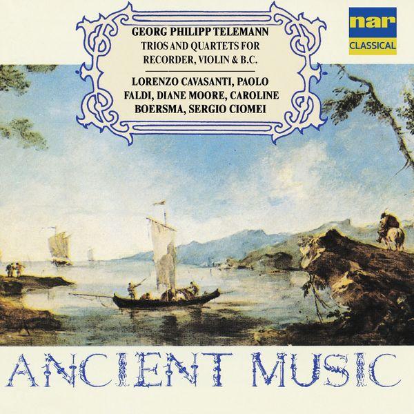 Lorenzo Cavasanti - Georg Philipp Telemann: Trios and Quartets for Recorder, Violin & Basso Continuo