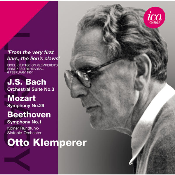 WDR Sinfonieorchester Köln - Bach: Orchestral Suite No. 3 - Mozart: Symphony No. 29 - Beethoven: Symphony No. 1