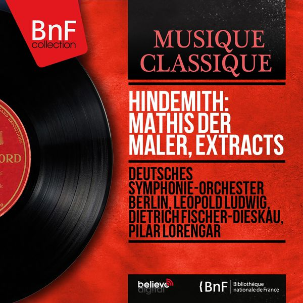 Berlin Deutsches Symphony Orchestra - Hindemith: Mathis der Maler, Extracts (Mono Version)