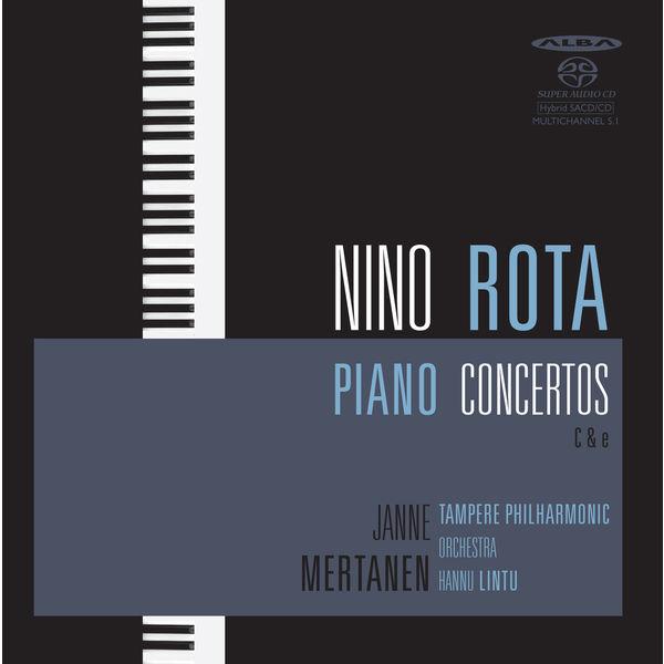 Janne Mertanen - Rota: Piano Concertos