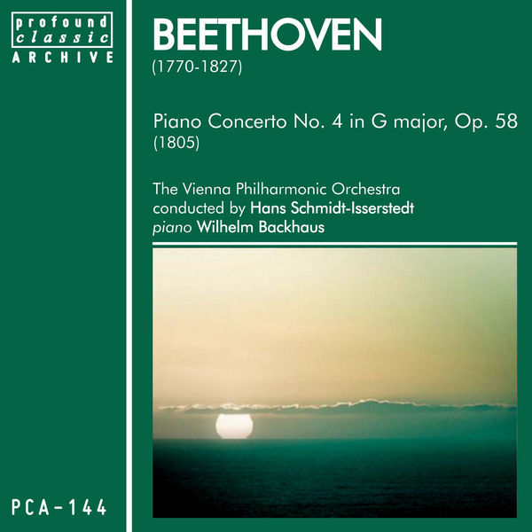 Wiener Philharmonic Orchestra - Beethoven: Piano Concerto No. 4 in G Major, Op. 58