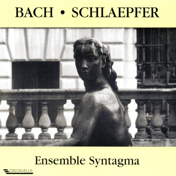 Johann Sebastian Bach - Bach: Sonatas - Schlaepfer: Dialogue & Psaumes