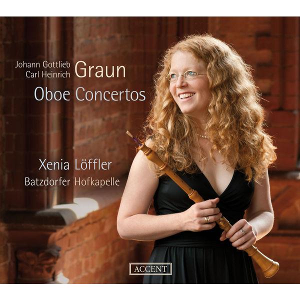 Xenia Löffler - Johann Gottlieb & Carl Heinrich Graun : Oboe Concertos