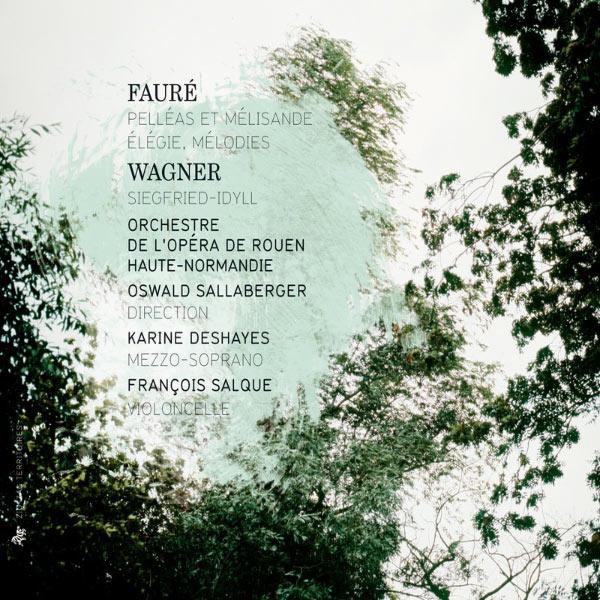 François Salque - Fauré : Pelléas et Mélisande, Élégie & Mélodies - Wagner : Siegfried-Idyll