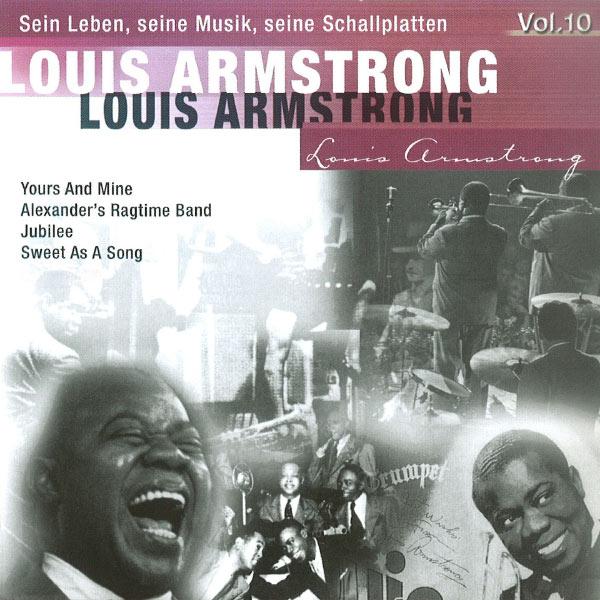 Louis Armstrong - Louis Armstrong -Sein Leben, seine Musik, seine Schallplatten, Vol.10