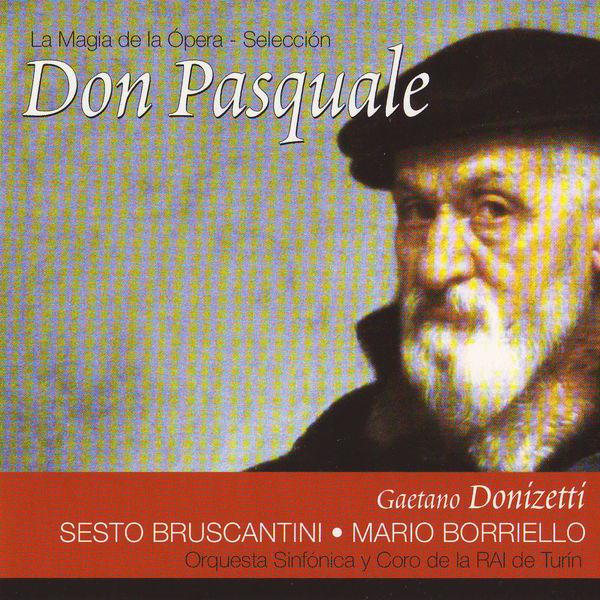Sesto Bruscantini - Don Pasquale (Gaetano Donizetti)