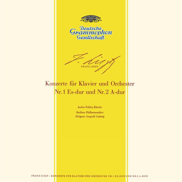 Andor Foldes - Liszt: Piano Concerto Nos. 1, S.124 & 2, S.125 / Rachmaninov: Piano Concerto No.2