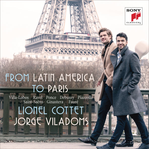 Lionel Cottet - From Latin America to Paris - Works for Cello and Piano
