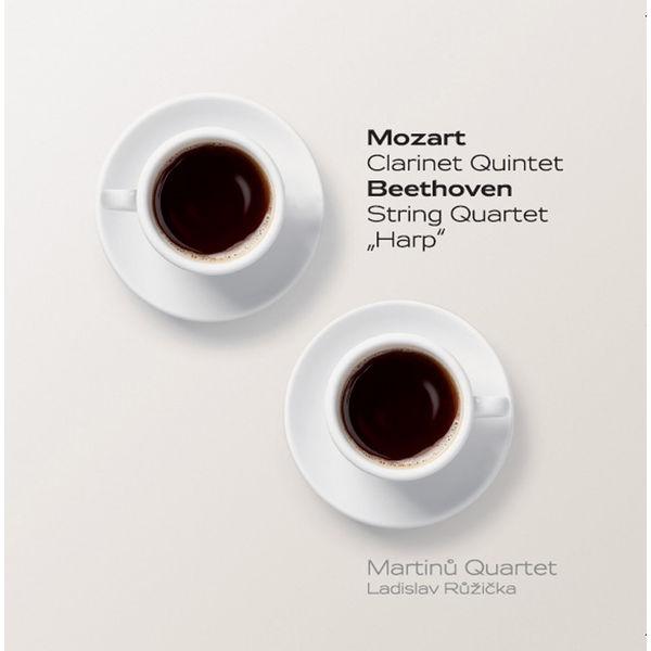 """Ladislav Ruzicka - Mozart: Clarinet Quintet - Beethoven: String Quartet, """"Harp"""""""