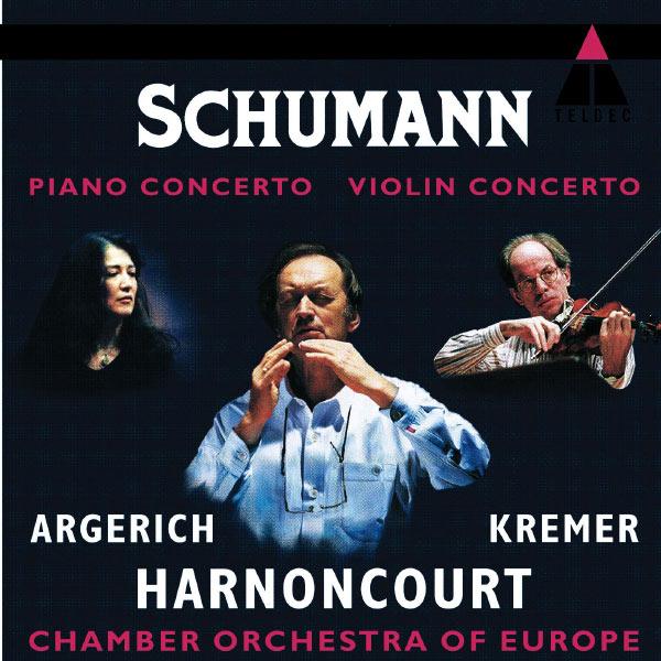 Martha Argerich - Schumann : Piano Concerto - Violin Concerto