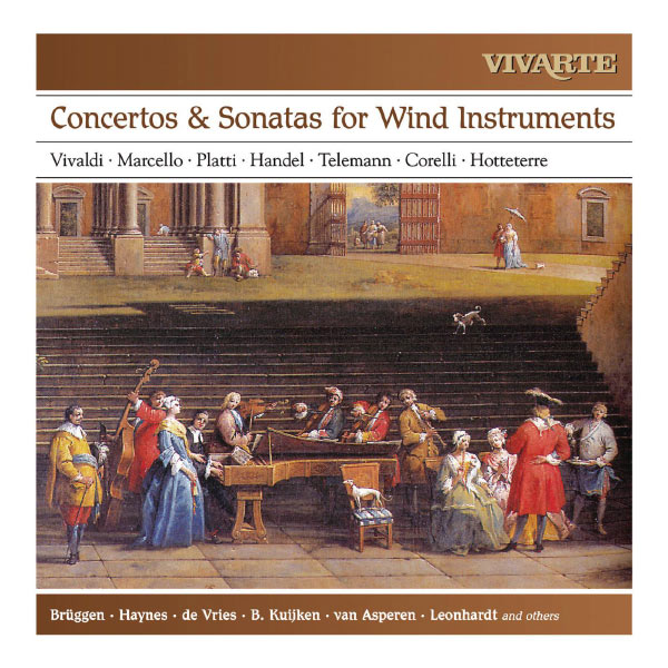 Various Interprets - Concertos & Sonatas for Wind Instruments (Vivaldi, Marcello, Platti, Händel, Telemann, Corelli, Hotteterre)