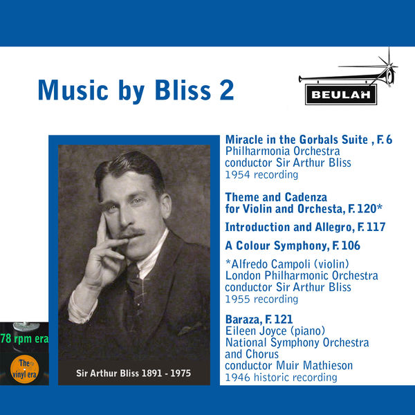 Arthur Bliss - Music By Bliss, Vol. 2