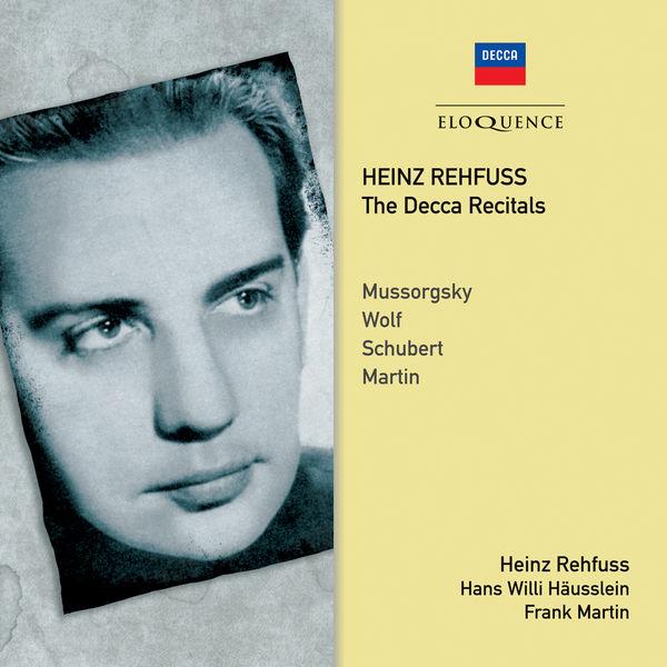 Heinz Rehfuss - Heinz Rehfuss - The Decca Recitals