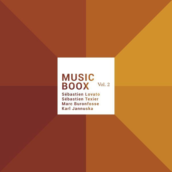 Sébastien Lovato - Music Boox, Vol. 2 (feat. Sébastien Texier, Marc Buronfosse & Karl Jannuska)