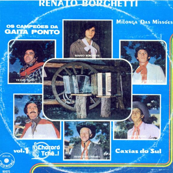 Various Artists - Os Campeões da Gaita Ponto, Vol. 1 (Milonga das Missões / Caxias do Sul)
