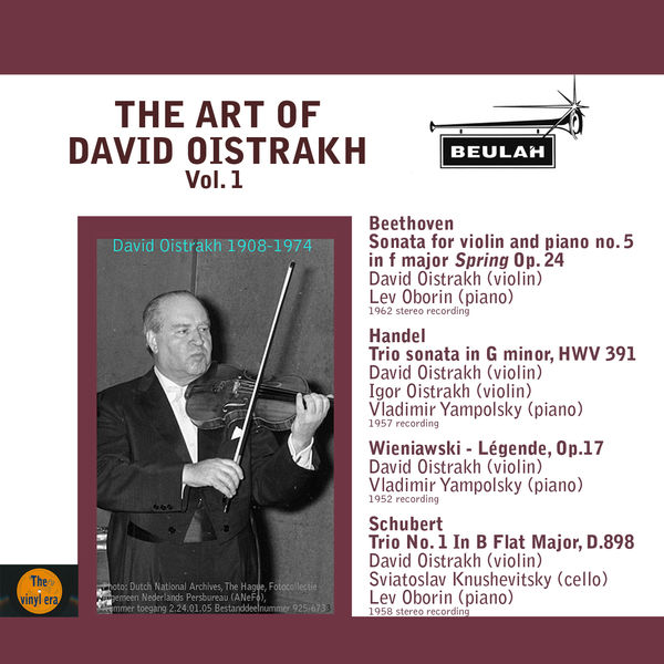 David Oïstrakh - The Art of David Oistrakh, Vol. 1