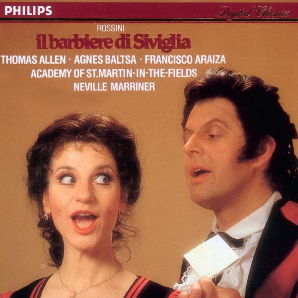 Sir Thomas Allen - Rossini : Il Barbiere di Siviglia