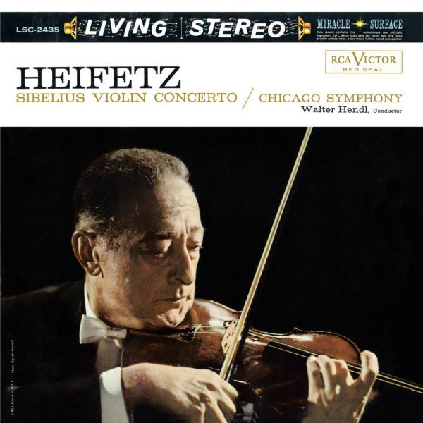 Jascha Heifetz - Sibelius: Violin Concerto in D Minor, Op. 47