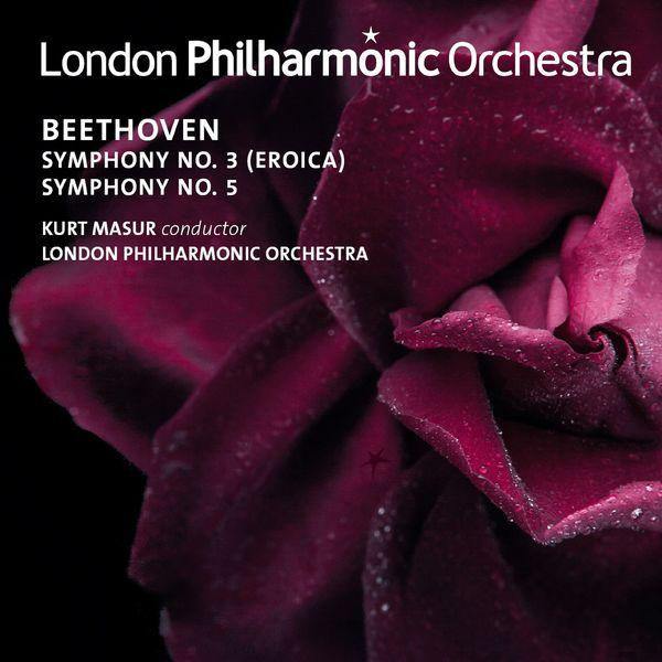 Kurt Masur - Beethoven: Symphonies Nos. 3 & 5
