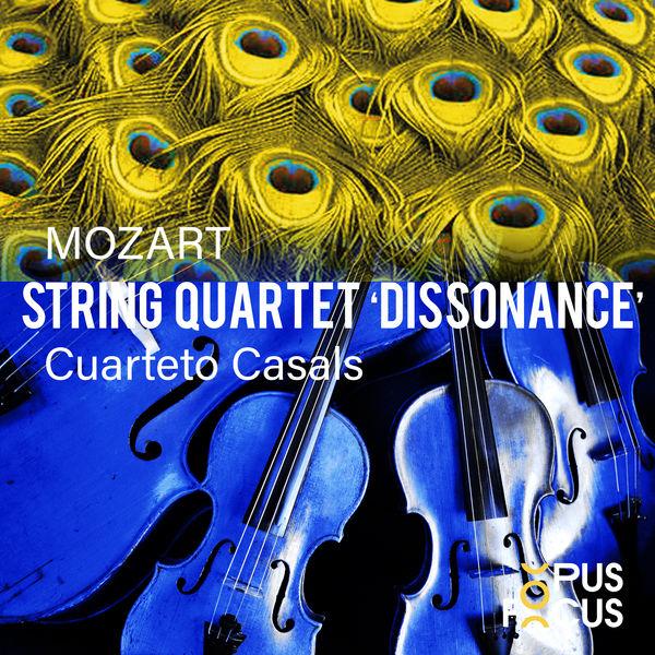 "Cuarteto Casals - Mozart: String Quartet, K. 465 ""Dissonance"""