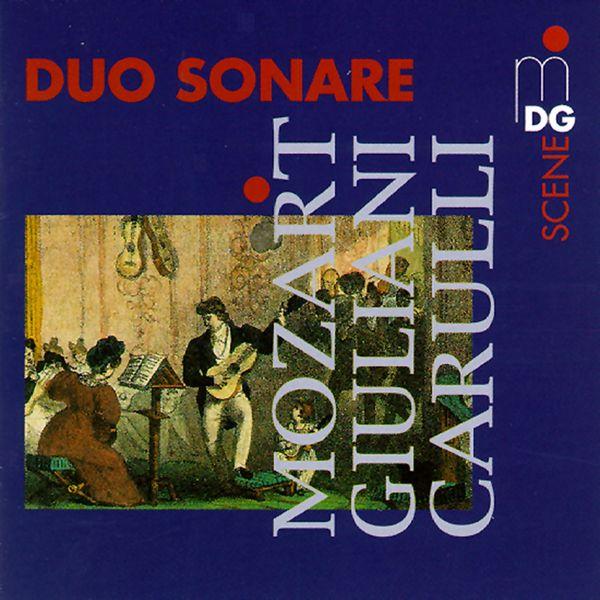 Duo Sonare - Duo Sonare plays Mozart, Giuliani & Carulli