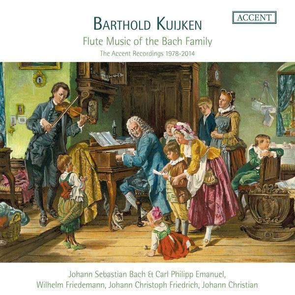 Barthold Kuijken - Flute Music of the Bach Family