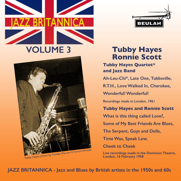 Tubby Hayes|Jazz Britannica, Vol. 3: Tubby Hayes and Ronnie Scott