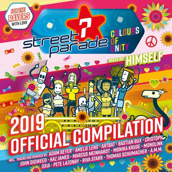 Himself - Street Parade 2019 Official Compilation (Mixed by Himself) [Colours of Unity]
