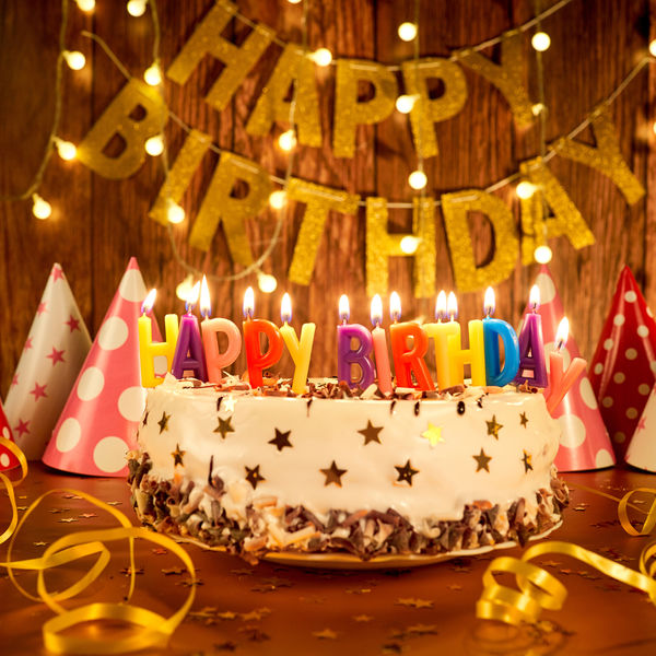Tillykke Med Fødselsdagen - Happy Birthday