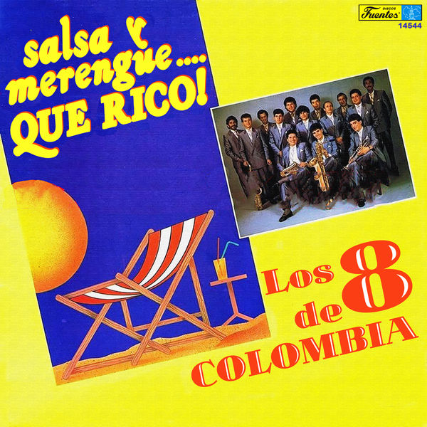 Los Ocho de Colombia - Salsa y Merengue... Que Rico!