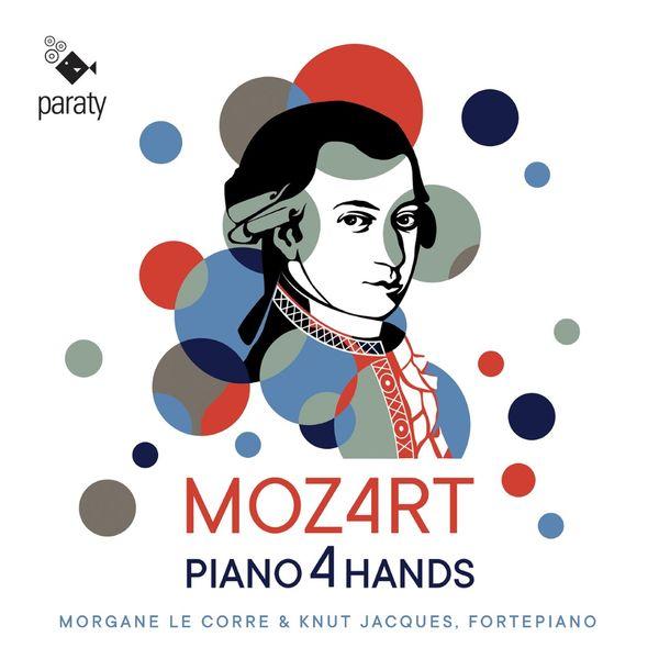 Knut Jacques - Mozart: Piano 4 Hands