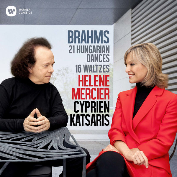 Cyprien Katsaris - Brahms: 21 Hungarian Dances & 16 Waltzes for Piano Four Hands