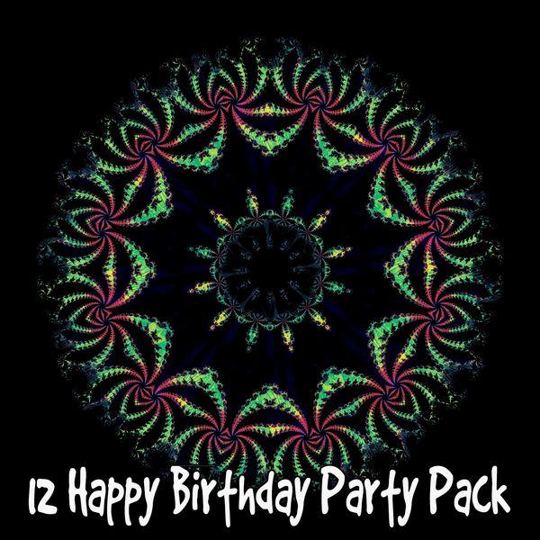 Happy Birthday - 12 Happy Birthday Party Pack