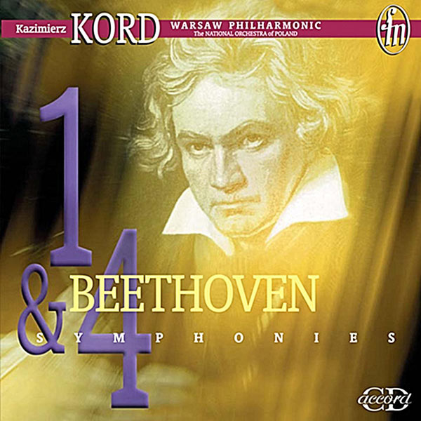 Kazimierz Kord - Beethoven: Symphonies Nos. 1 and 4 / Overture to Egmont