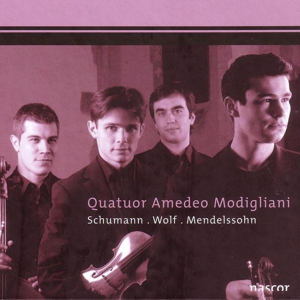 Quatuor Modigliani - Schumann - Wolf - Mendelssohn