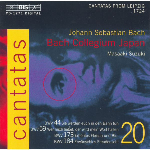 Yukari Nonoshita - BACH, J.S.: Cantatas, Vol. 20 (Suzuki) - BWV 44, 59, 173, 184
