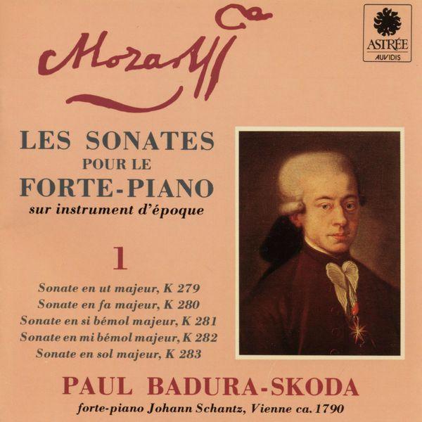 Paul Badura-Skoda - Mozart: Les sonates pour le forte-piano sur instrument d'époque, Vol. 1