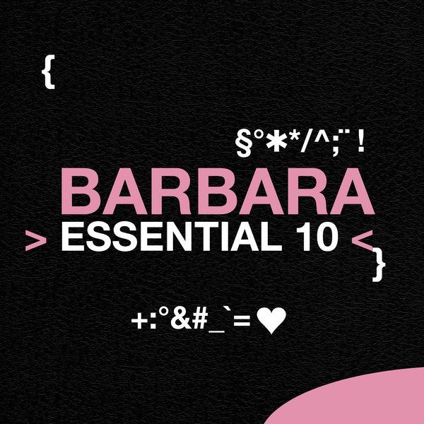 Barbara - Barbara: Essential 10